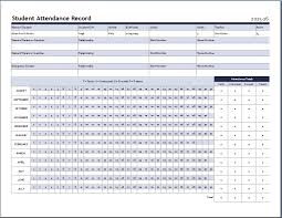 Weekly Attendance Sheet Template Ms Word Attendance Sheet Template Formal Word Templates