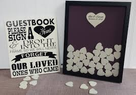 wedding guest book picture frame 7 guest book trends you need to wedded