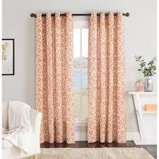 Orange Panel Curtains 10 Best Curtains Images On Pinterest Curtain Panels Window