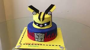 transformer cake transformers cake