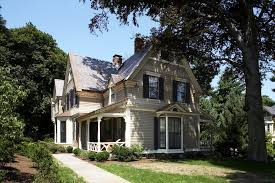 modern paint color schemes exterior victorian with wood trim