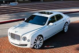 bentley mulsanne white bentley mulsanne l vellano vm03 24 u2033 monoblock vellano forged