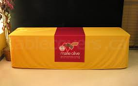 24 wide table runners 24 x 60 trade show table