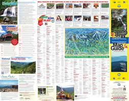 Manchester Vt Map White Mountains New Hampshire Map By White Mountains Attractions