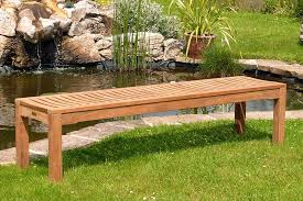 elegant backless outdoor bench nice backless outdoor bench