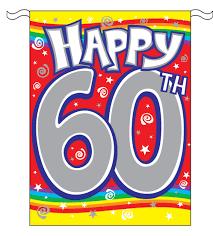 60 year birthday 60th birthday clipart