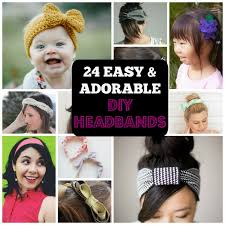 headbands for 24 adorable diy headbands for all ages cool crafts