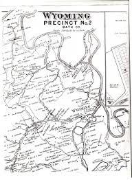 County Map Kentucky Wyoming Kentucky Maps