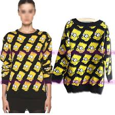 bart sweater homer sweater on the hunt