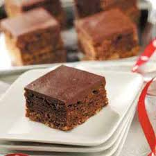 three layer chocolate brownies recipe taste of home