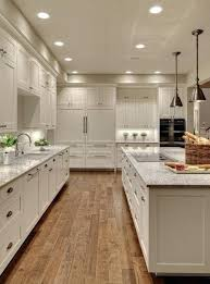 Dark Floors Light Cabinets Kitchen White Kitchen Cabinets With Light Hardwood Floors Distressed Wood