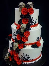 Halloween Wedding Decor Ideas by Best 25 Halloween Wedding Cakes Ideas On Pinterest Gothic