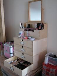 Bathroom Makeup Storage Ideas by Cosmetic Storage Solutions Best Diy Makeup Storage Ideas 15 Makeup