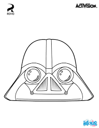vader coloring pages hellokids com