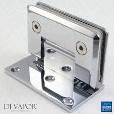 Shower Door Hinge 90 Degree Wall Mounted Shower Door Glass Hinge Chrome Plated