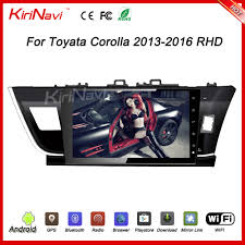 car dvd player for toyota corolla axio car dvd player for toyota