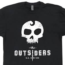 amazon com the outsiders t shirts literature literary book movie