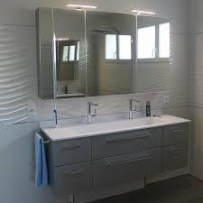 Meuble De Rangement Salle Bain Armoire 1 Miroir Meubles De Salle De Bain Contemporain Atlantic Bain
