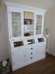 large kitchen storage cupboards large handmade kitchen roll top dresser in white kitchen