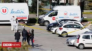 systeme u siege social shooting kill supermarket gunman