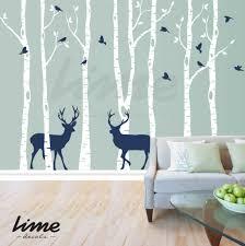 interior elegant design of bird deer tree wall stickers for living interior elegant design of bird deer tree wall stickers for living space wall decor attractive interior