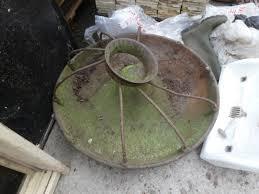 original cast iron pig feeder