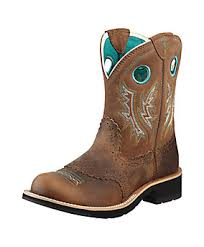 womens boots tractor supply ariat fatbaby boot powdered brown 103985999