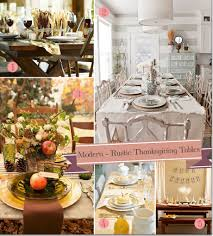 Thanksgiving Table Centerpieces by Modern Rustic Thanksgiving Table Settings 10 Great Ideas