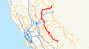 Cal State Map by California State Route 49 Wikipedia
