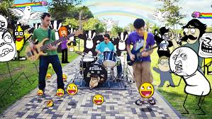 Internet Meme Song - epic gag quartet internet meme song made on mac obama pacman