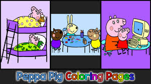Peppa Pig 2017 Book Peppa Pig Coloring Pages For Peppa Pig Coloring