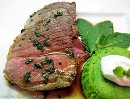 uk recipes irish recipes roast leg of lamb with fresh mint sauce