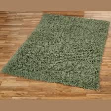 olive green flokati wool shag area rugs