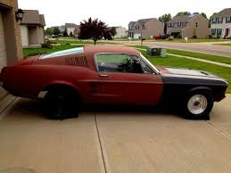 1967 mustang shell for sale 1967 ford mustang fastback car autos gallery