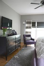 Grey Bedroom White Furniture The Yellow Cape Cod Dramatic Master Bedroom Makeover Before And