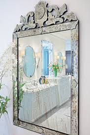 Venetian Mirror Bathroom by Interior Framed Mirrors For Bathroom Venetian Mirror Leaning
