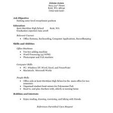 high school resume exles no experience resume exles for receptionist with no experience new