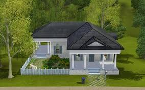 1950 Style Homes Summer U0027s Little Sims 3 Garden Twinbrook The Sims 3 Ambitions