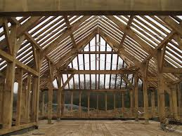 Build Pool House Green Oak Timber Frame Of Swimming Pool Extension