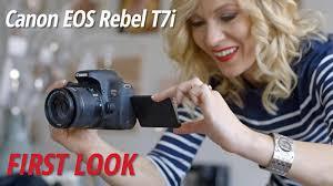 canon t7i eos rebel dslr camera canon t7i camera body 1894c001 b u0026h