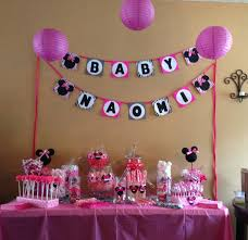 minnie mouse baby shower candy buffet creations by me