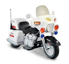 for kids police vs car amazon com 12v police motorcycle toys u0026 games