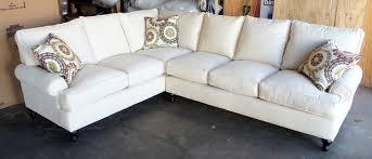 Slipcover Sofa Sectional Wonderful Irma Modern Light Fabric Sectional Sofa Sofas Within