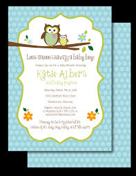 owl themed baby shower invites sarahwolfrum