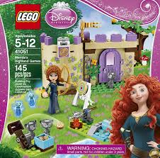 amazon com lego disney princess 41051 merida u0027s highland games