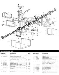 liftmaster formula 1 manual liftmaster 1270 1280 1280r openers replacement parts