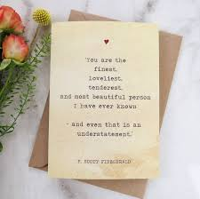 wedding quotes literature literature valentines card f fitzgerald quote by literary