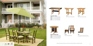 Outdoor Furniture Syracuse Ny by Windy Valley Woodworks 2017 Finch Catalog