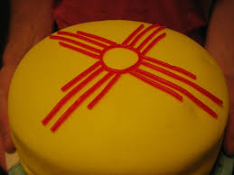 New Mexican Flag New Mexico Birthday Cake Cakecentral Com
