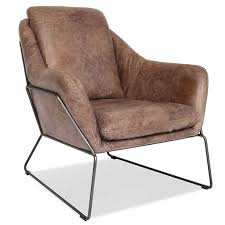 Leather Lounge Chair Lionel Modern Leather Lounge Chair